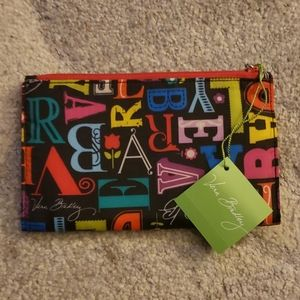 NWT Double Zip Wallet From A to Vera Pattern